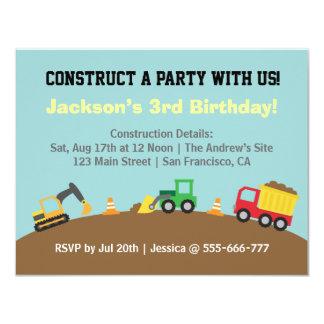 De Partij van de Verjaardag van het Thema van de 10,8x13,9 Uitnodiging Kaart