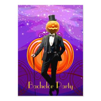 De Partij van de Vrijgezel van Halloween met de Kaart