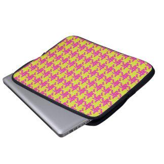 De Pied DE Poule Laptop Zak van de pop Laptop Sleeve