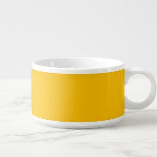 De piment de bol jaune uni bol à chili