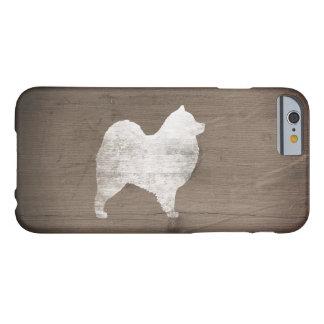 De Plattelander van het Silhouet van Samoyed Barely There iPhone 6 Hoesje
