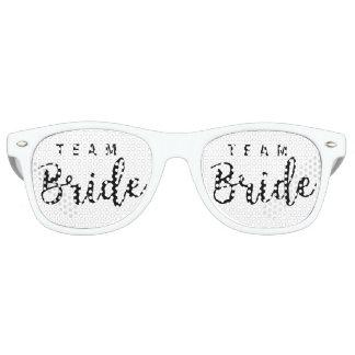 De Ploeg van de bruid, de Bruid van het Team, de Retro Zonnebril