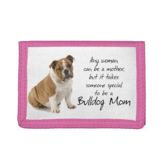 De Portefeuille van het Mamma van de buldog