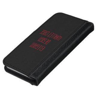 De portefeuillehoesje van IPhone iPhone 6 Portemonneehoesje