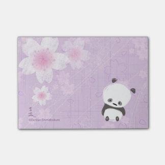 De Post-its van de Panda van Zen (Sakura) Post-it® Notes