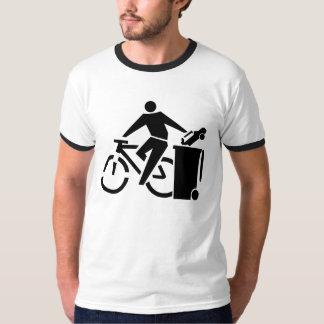 De ProFiets van de antiAuto T Shirt