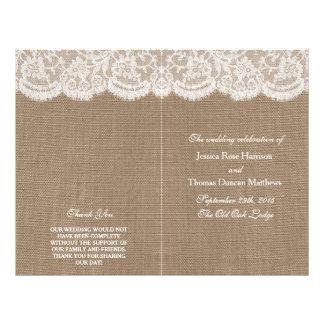 De programma's van het Collectie van het Huwelijk Flyer 21,6 X 27,9 Cm