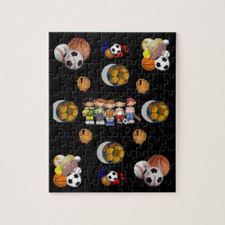 De Puzzel van de sport Puzzel