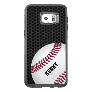De Rand van Otterbox Samsung van het honkbal S6
