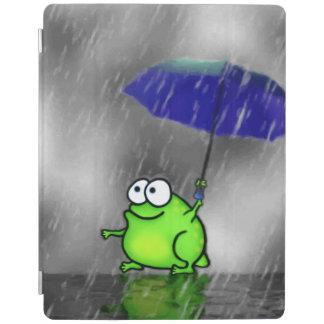 De regenachtige Kikker van de Dag iPad Cover