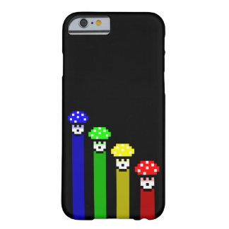 De Regenboog van de paddestoel Barely There iPhone 6 Hoesje