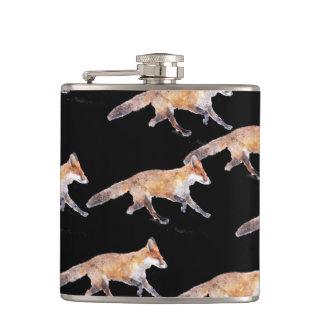 De renards flacon de hanche en abondance