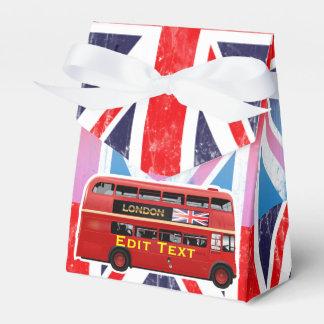 De rode Bus van Londen Bedankdoosjes