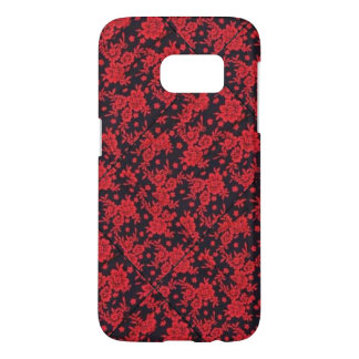 De rode Melkweg van Samsung van de Bloei S7 Samsung Galaxy S7 Hoesje