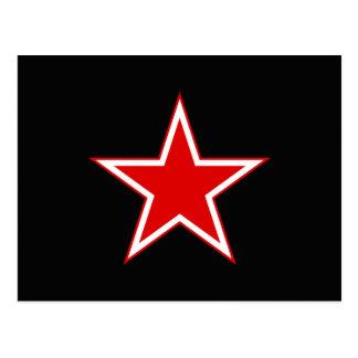 De rode Zwarte van de Ster Briefkaart
