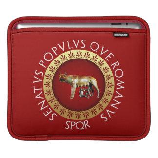 De Roman zij-Wolf Capitoline iPad Beschermhoes