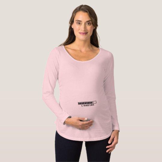 Grappige Zwangerschapskleding.De Roze En Grappige Kleding Van Het Moederschap Zwangerschapskleding
