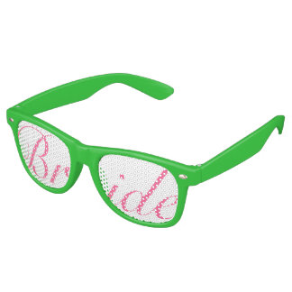 De roze en Groene Glazen van de Partij van Swag Retro Zonnebril