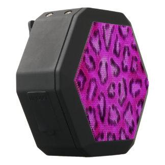 De roze Paarse Geweven Samenvatting van de Zwarte Bluetooth Speaker