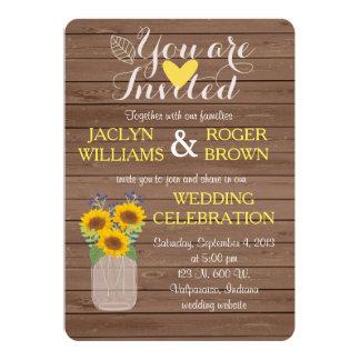 De rustieke Uitnodiging van het Huwelijk van de