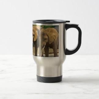 De Safari van de olifant Reisbeker