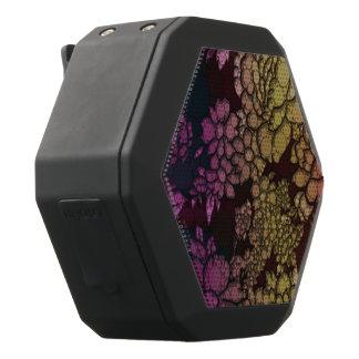 De Samenvatting van de Bloem van de regenboog Zwarte Bluetooth Speaker