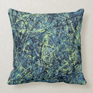 ~ de SATURATION (une conception d'art abstrait) Coussin