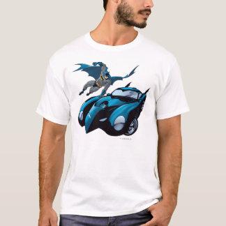 De schommeling van Batman over T Shirt
