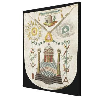 De schort van een Meester van heilige-Julien breng Canvas Afdruk