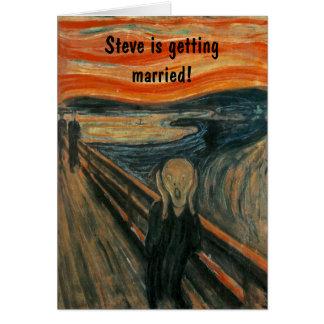De schreeuw door Edvard Munch Briefkaarten 0