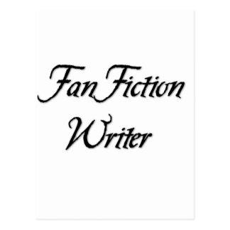 De Schrijver van de Fictie van de ventilator Wenskaarten