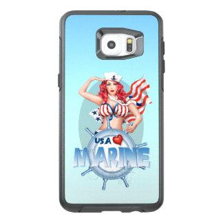 De SEXY MARIENE Rand van de Melkweg van de V.S. OtterBox Samsung Galaxy S6 Edge Plus Hoesje