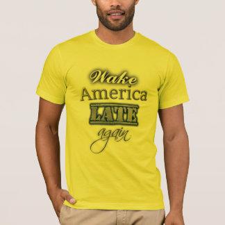 De sillage de l'Amérique anti T-shirt d'atout tard