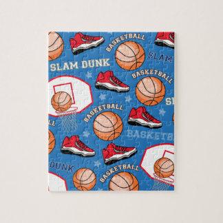 De Slag van het Basketbal van SPORTEN dompelt het Legpuzzel
