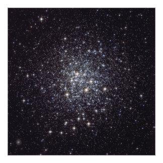 De slordigere Bolvormige Cluster van Ster 72 NGC 6 Foto Afdruk