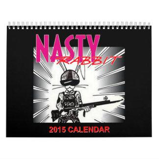 De SMERIGE Kalender van het KONIJN 2015