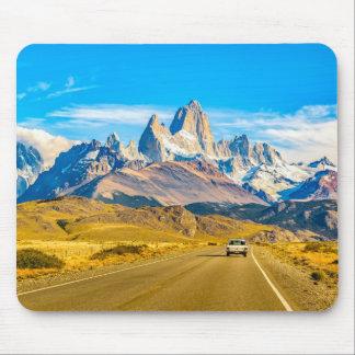 De sneeuw Bergen van de Andes, Gr Chalten, Muismatten