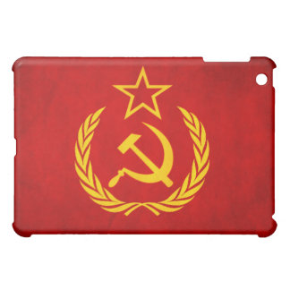 De sovjet Douane Hard Shell van de Vlag iPad Mini Covers