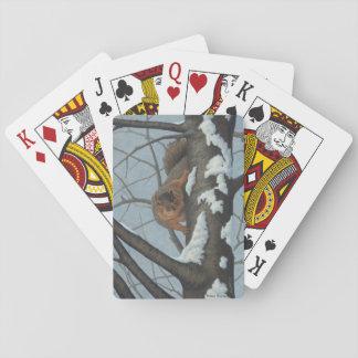 De Speelkaarten van de eekhoorn