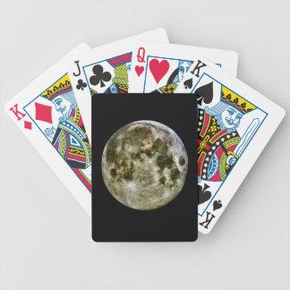 De Speelkaarten van de volle maan Poker Kaarten
