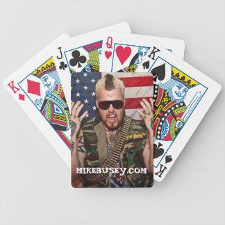 De Speelkaarten van Mike Busey Poker Kaarten