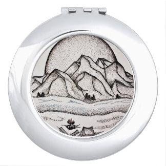 De Spiegel van de berg Make-up Spiegels