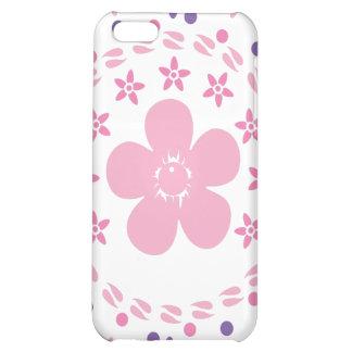 De Spiraal van de bloem: Vector Kunst: iPhone 5C Hoesjes