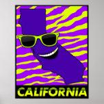 De staat van het Poster van Californië
