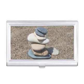 De stenen van Zen Visitekaarthouder