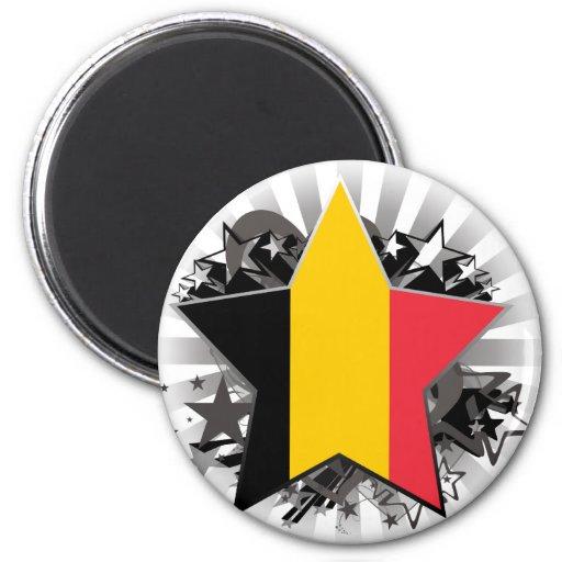 De Ster van België Koelkast Magneet