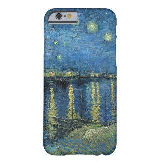 De Sterrige Nacht van Vincent van Gogh over de Rhô
