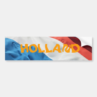 De Sticker van de Bumper van Holland Bumpersticker