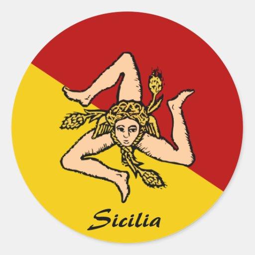De Stickers van Sicilië