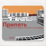 De stijl van de Propaganda van Prypyat Muismat